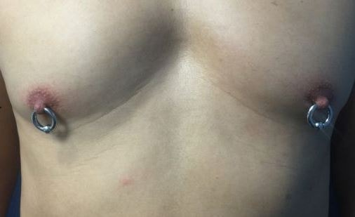 Nipple piercing Male