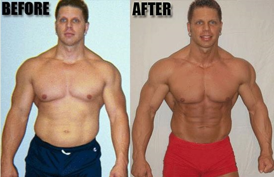 before after testosterone therapy